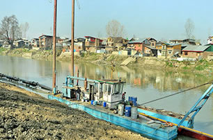 Dredging of River Jhelum